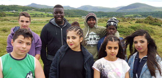 young people on youth camp