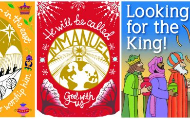 BCM Christmas cards and booklets